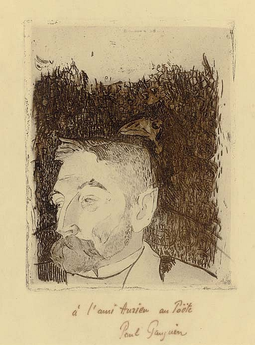 Portrait de Stéphane Mallarmé (Guérin 14; Mongan, Kornfeld, Joachim, and Stauffer 12)