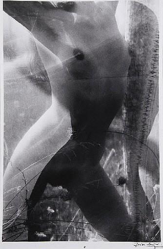 CLERGUE, Lucien (né en 1934).  Caco au Grand Herbier. Suite de 10 photographies.  Paris: Galerie le Balcon des Arts, 1978.