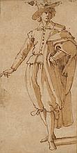 JACOPO CHIMENTI, CALLED JACOPO DA EMPOLI (EMPOLI 1554-1640) An elegantly dressed youn