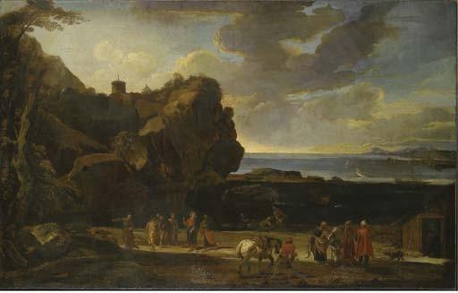 Attribuito a Jacob de Heusch (Utrecht 1656-1701 Amsterdam)