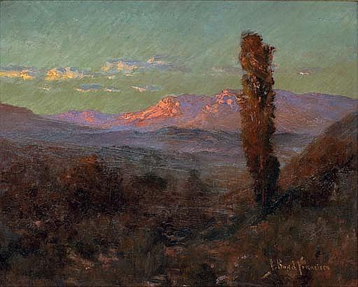 Desert Sunset, New Mexico