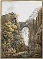 Les cascades de Tivoli, Peter Birmann, Click for value