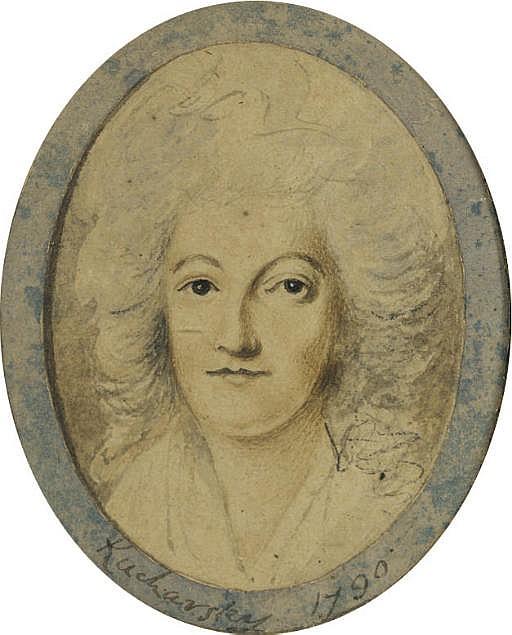 Portrait de la reine Marie-Antoinette