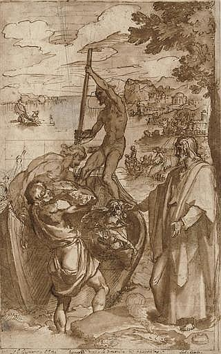 The Apparition of Christ to Saint Peter