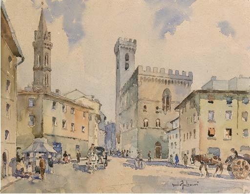 Giulio Falzoni (Italia 1900-1978)