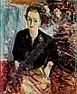 Femme assise dans un intérieur, Dimitrie Berea, Click for value