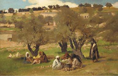 Pierre Jan van der Ouderaa (Belgian, 1841-1915)