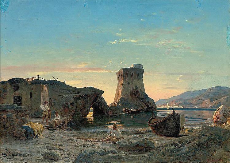 Albert Flamm (German, 1823-1906)