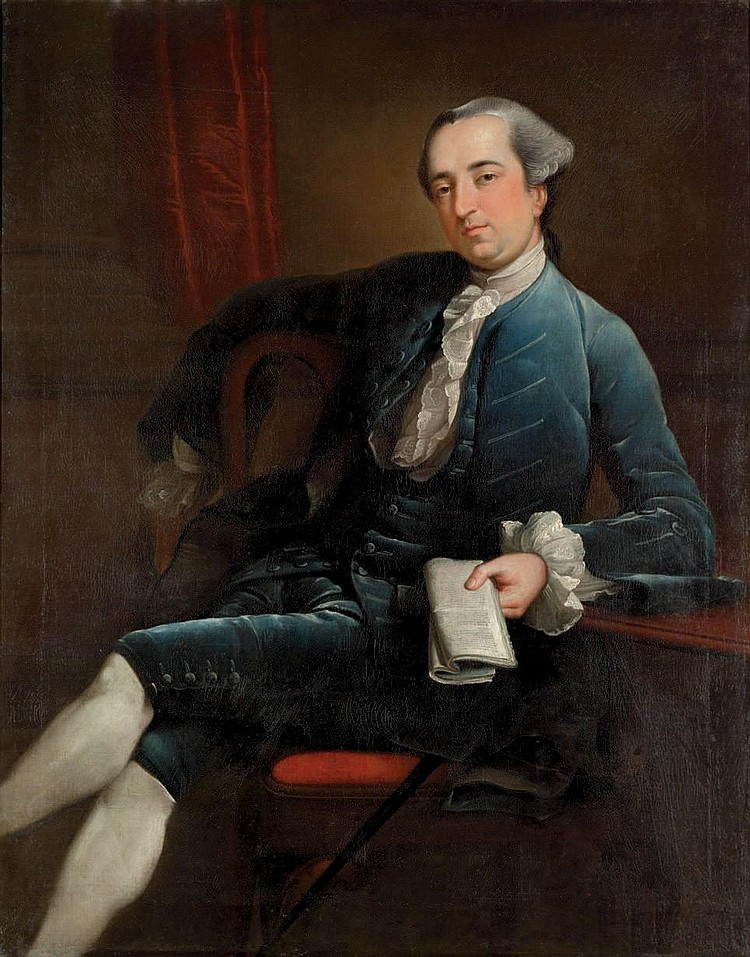 Robert Edge Pine (London  c . 1720-1788 Philadelphia)
