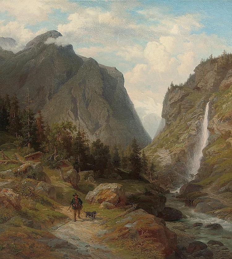 Wilhelm Brandenburg (GERMAN, 1824-1901)