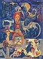 Hamed Nada (Egyptian 1924 - 1990) , Hamed Nada, Click for value