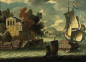 Circle of Orazio Grevenbroeck (active Paris c.1670-c.1730)