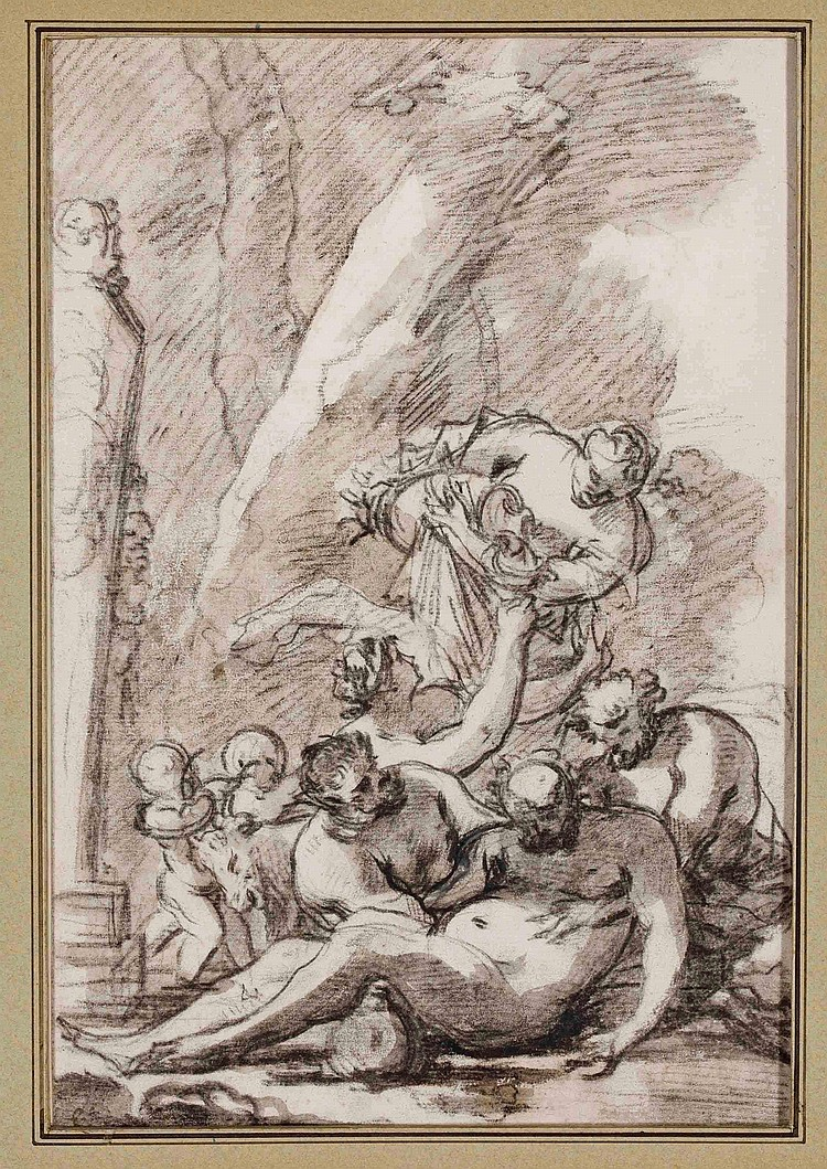 NICOLAS CHAPERON (CHATEAUDUN 1612-1656 ROME)