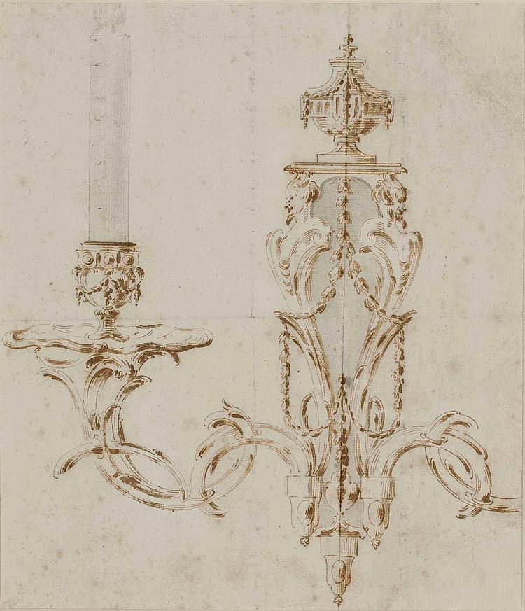ENTOURAGE DE GILLES-PAUL CAUVET (AIX-EN-PROVENCE 1731-1788 PARIS)
