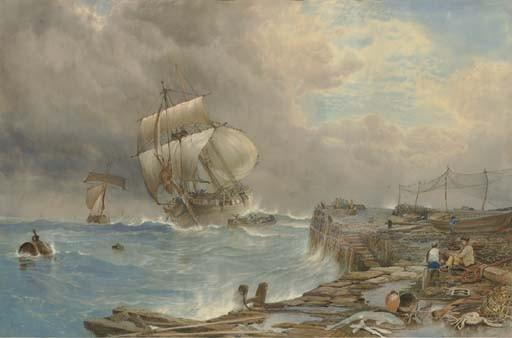 George Whitaker (British, 1834-1874)