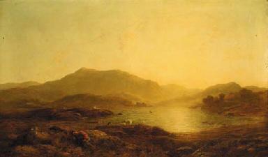 Thomas Danby, R.W.S. (1817/8-1886)