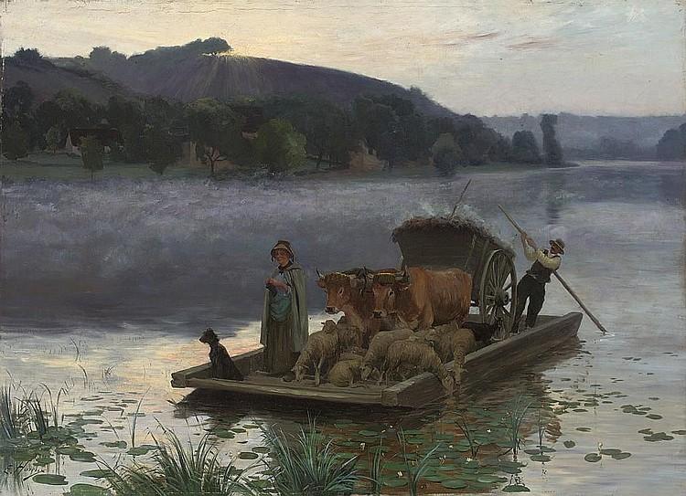Ernest Victor Hareux (FRENCH, 1847-1909)