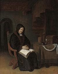 Attributed to Abraham de Pape (Leiden c.1620-1666)