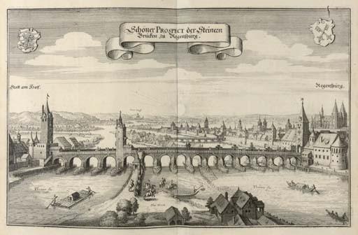 MERIAN, Matthaeus (1593-1650, illustrator) & Martin ZEILLER (1589-1661). <I>Topographia Bavariae</I>