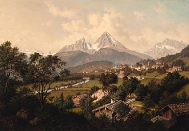 Hubert Sattler (Austrian, 1817-1904)
