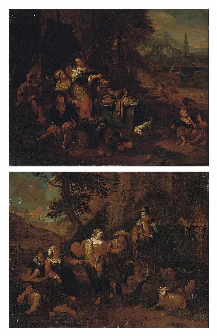 Attributed to Dirck Theodor Helmbreker (Haarlem 1633-1696 Rome)