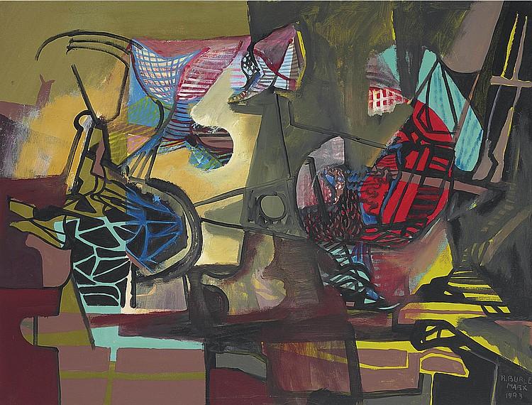 Roberto Burle Marx (Brazilian 1909-1994)