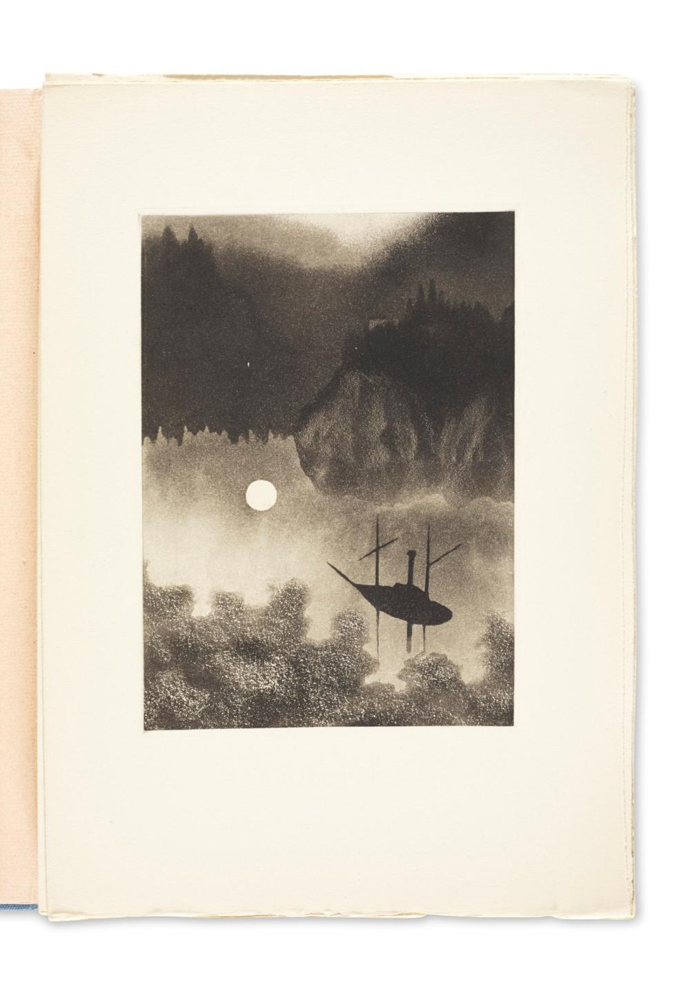 ALEXEÏEFF, Alexandre (1901-1982) et Hans ANDERSEN (1805-1875) Images de la lune. Paris : Union