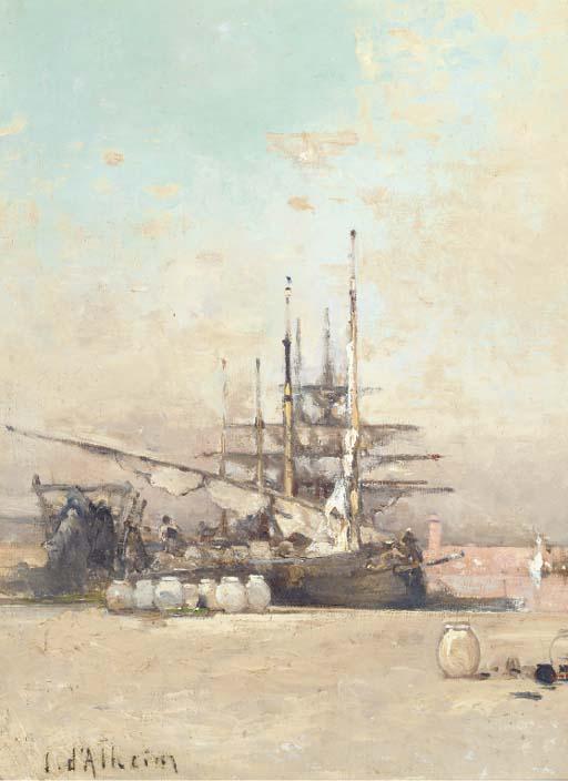 Jean D'Alheim (Russian, 1840-1894)