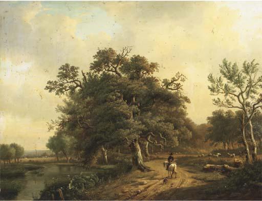 Louis-Pierre Verwee (Belgian, 1807-1877)