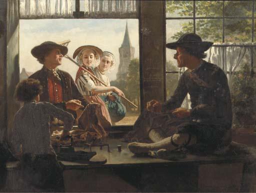 Adolf Alexander Dillens (Belgian, 1821-1877)