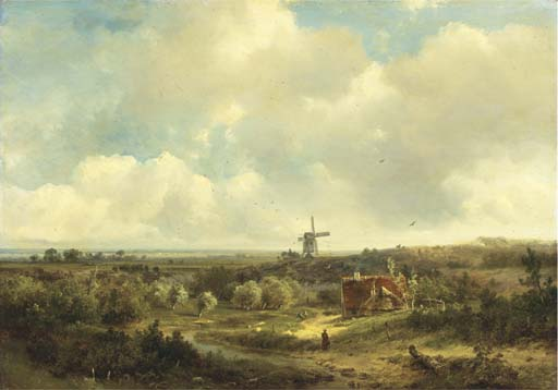 Pieter Lodewijk Francisco Kluyver (Dutch, 1816-1900)