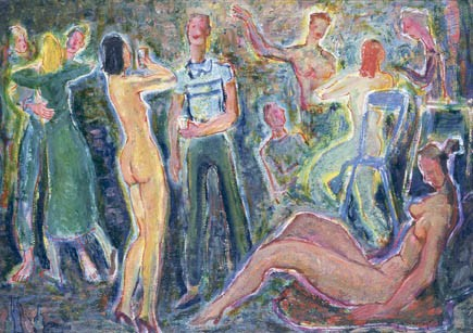 MAXIMILLIAN FEUERRING (1896-1985)