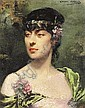 Louise Abbema (French, 1858-1927), Louise Abbema, Click for value