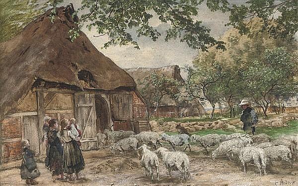 Karl Rodeck (German, 1841-1909)