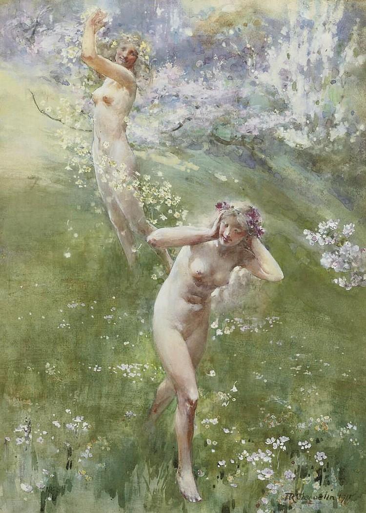 John Reinhard Weguelin, R.W.S. (1849-1927)