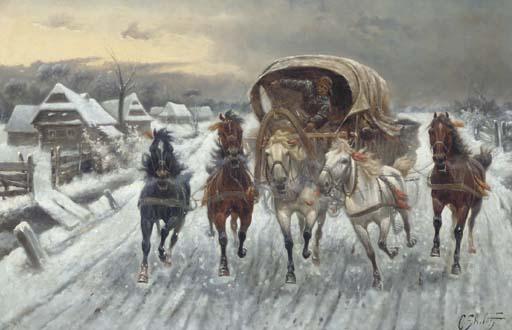Constantin Stoiloff (Russian, 1850-1924)