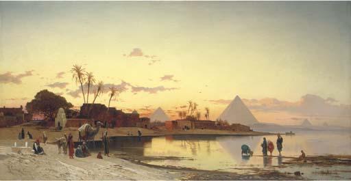 Hermann David Salomon Corrodi (Italian, 1844-1905)
