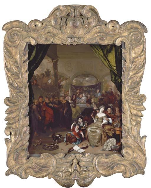 Richard Brakenburg (Haarlem 1650-1702)