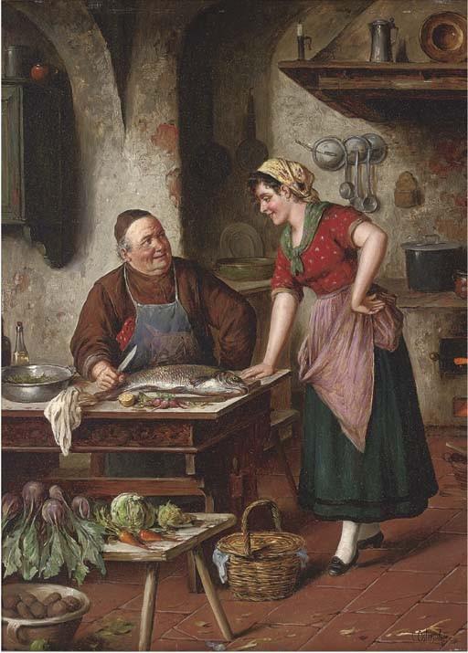 Carl Ostersetzer (German, 1850-1914)