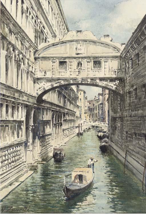 Vettore Zanetti-Zilla (Italian, 1864-1945)