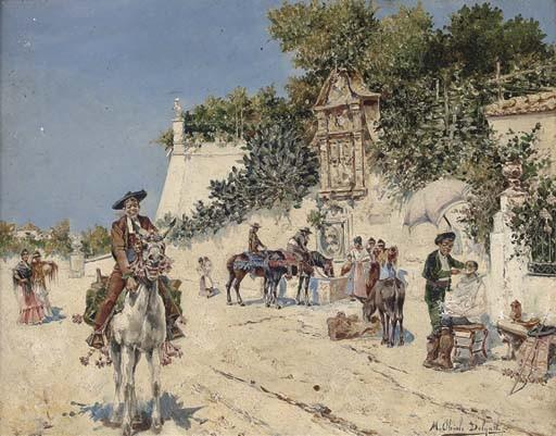 Mariano Obiols Delgado (Spanish, born circa 1860)