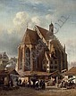 A view of the Frauenkirche, Nürnberg, Albert Schwendy, Click for value