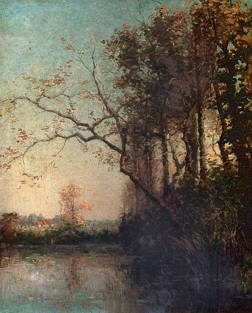 Etang à Tervueren: by the lake