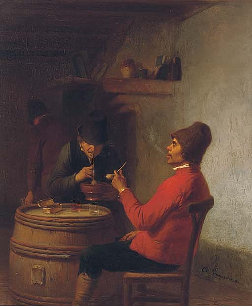 Smoking in the tavern