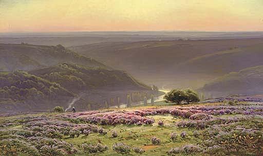 Le Matin: Gruyères en Fleurs, Vallée de la Dordogne