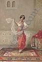 The Oriental Dancer, Francesco Ballesio, Click for value