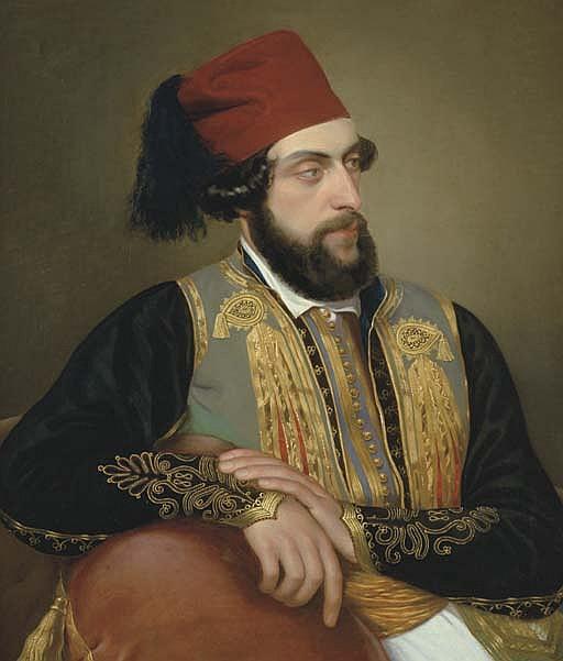 Ritratto Maschile in Costume Greco