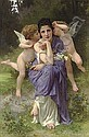 Chansons de printemps, Adolphe William Bouguereau, Click for value