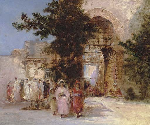 Outside the City Walls, Algiers