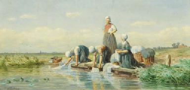 Gerrit Alexander Godart Philip Mollinger (Dutch, 1836-1867)